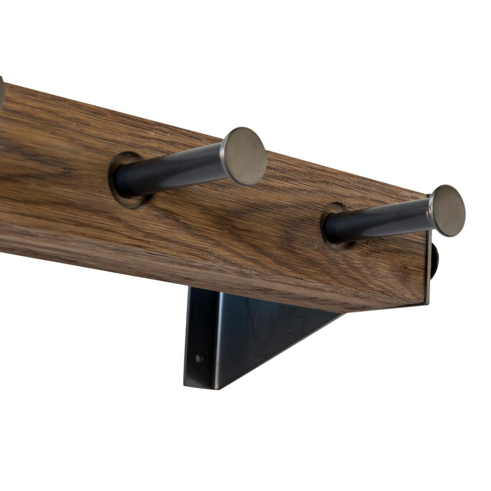 porte manteau mural acier klos 2 drawer. Black Bedroom Furniture Sets. Home Design Ideas