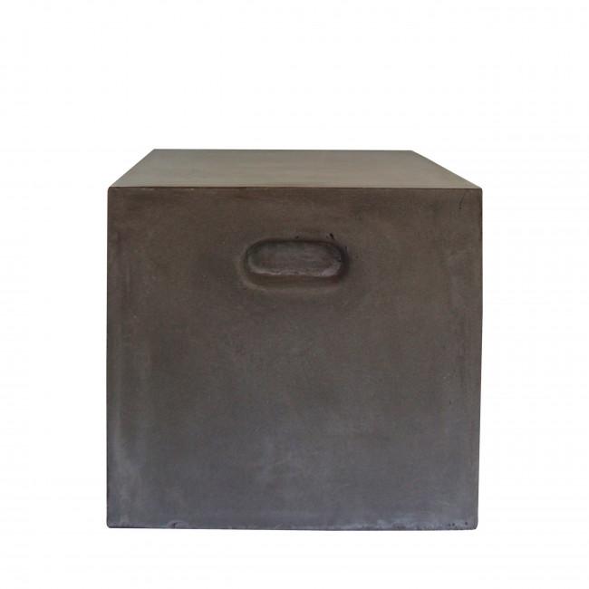 Pouf carré indoor/outdoor Fibre