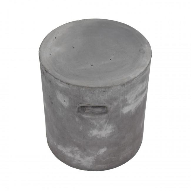 Pouf rond indoor/outdoor Fibre