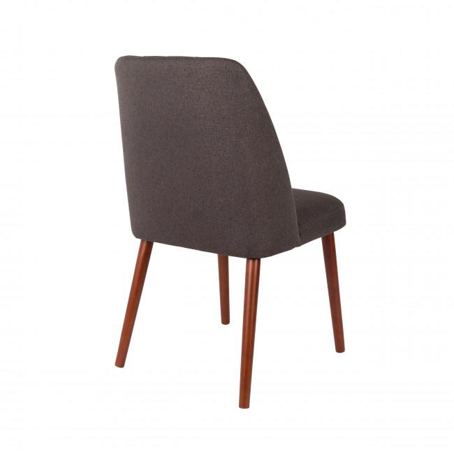 Lot de 2 chaises design en tissu Conway