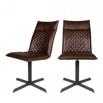 Lot de 2 chaises Ivar Zuiver