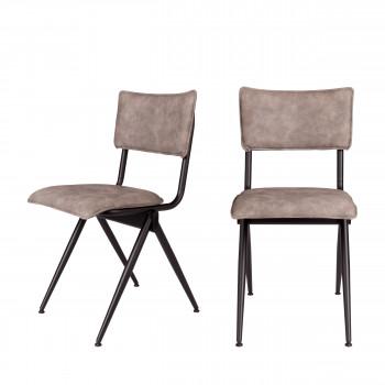 Lot de 2 chaises vintage Willow Dutchbone