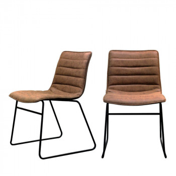 Lot de 2 chaises vintage Hampton RedCartel