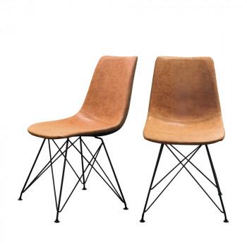 Lot de 2 chaises design Clyde RedCartel