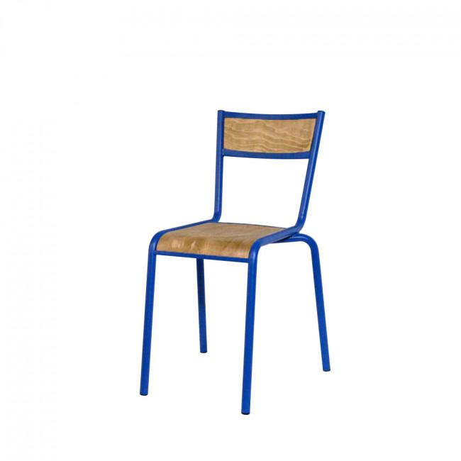 Lot de 2 chaises style écolier Pilot RedCartel