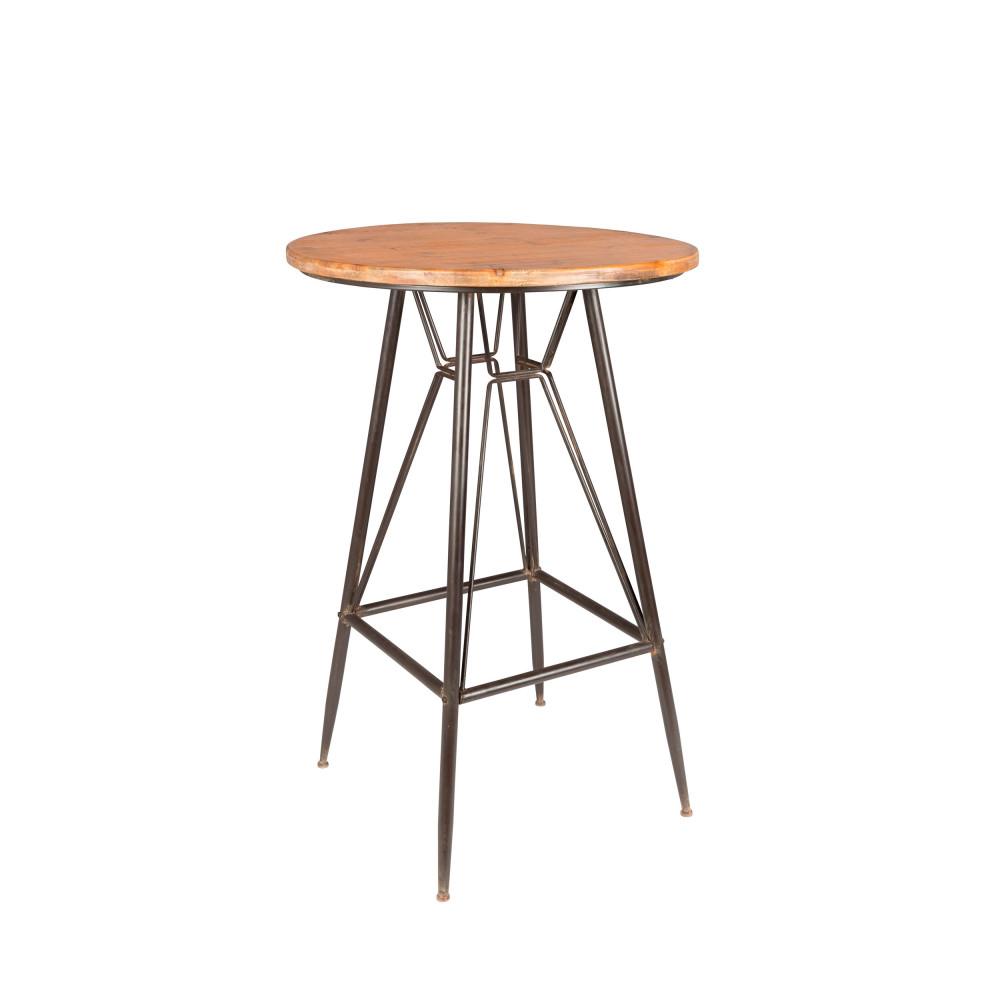 Table De Bar Ronde O65cm Whiskey Drawer