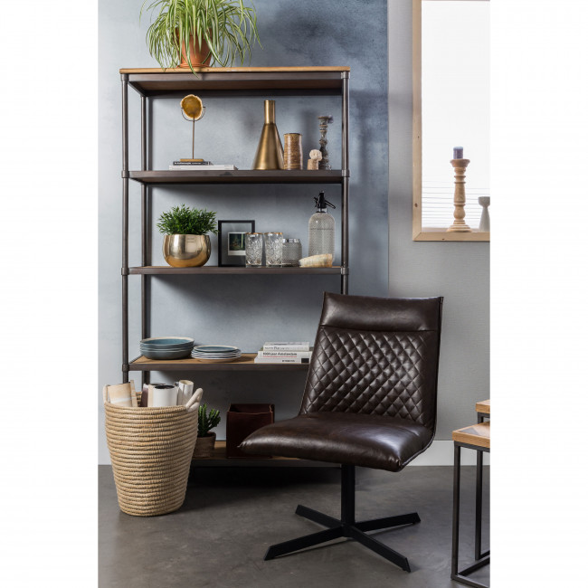 Fauteuil lounge vintage Ivar