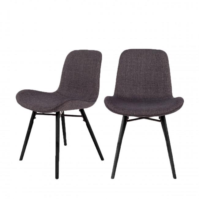 Lot de 2 chaises design Lester