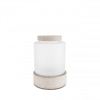 Vase design en béton Reina L Zuiver