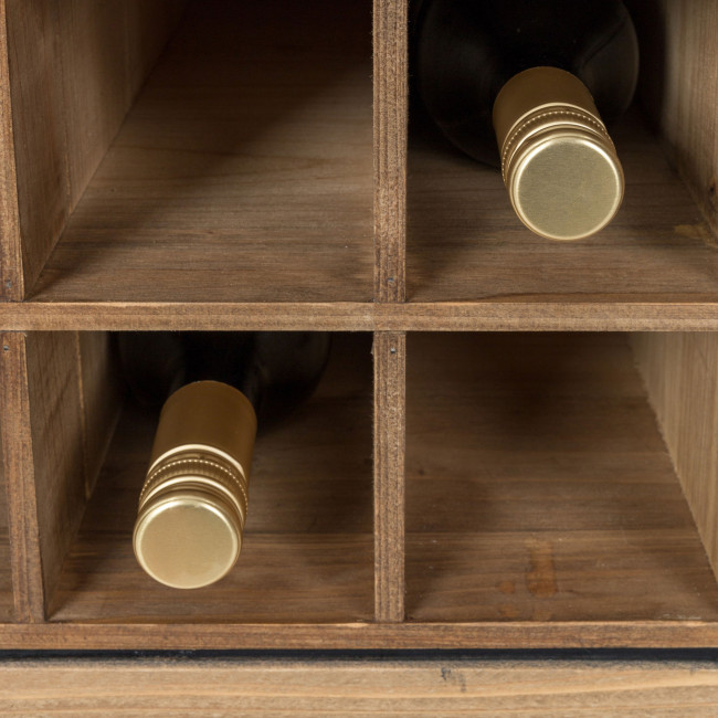 Armoire bar à vin vintage Edgar