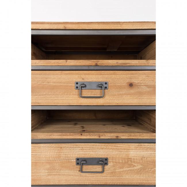 Buffet vintage en bois et métal Damian