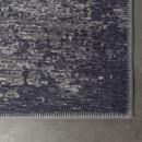 Tapis effet délavé bleu Caruso Dutchbone
