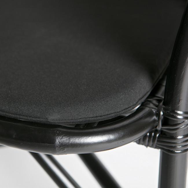 Chaise en rotin Sanne