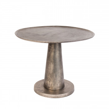 Table basse design métal ø63cm Brute Dutchbone