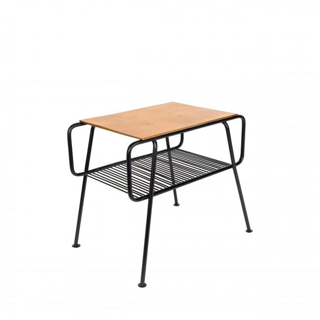 Table d'appoint en métal Gunnik Zuiver