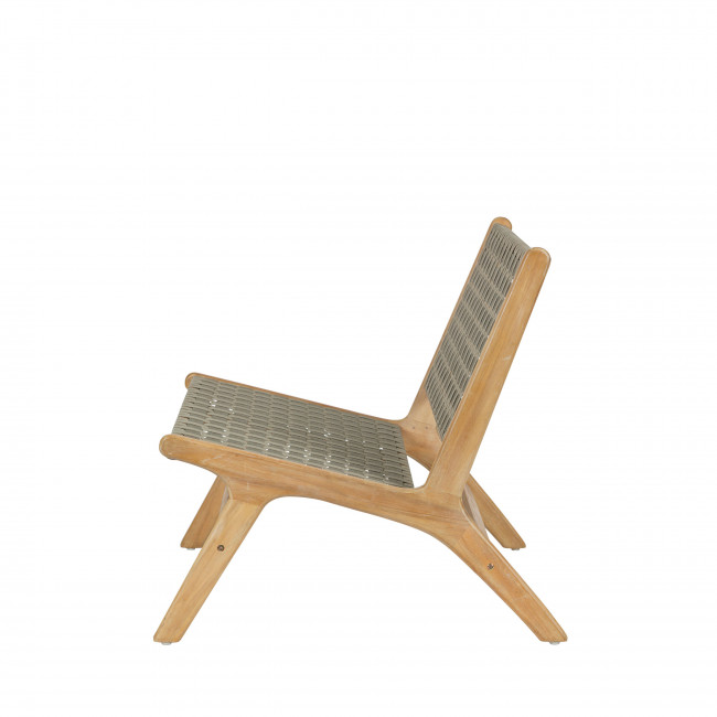 Banquette lounge indoor/outdoor en bois Frame