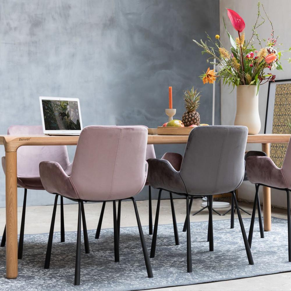 table manger bois 180x90 storm zuiver. Black Bedroom Furniture Sets. Home Design Ideas