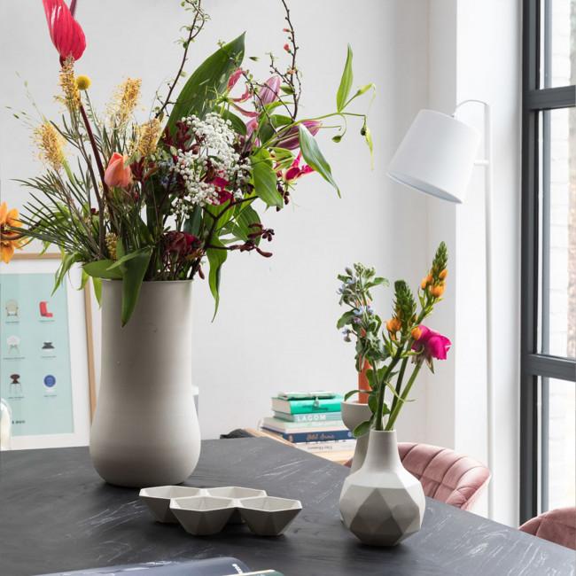 Vase design L Blob Zuiver Noir