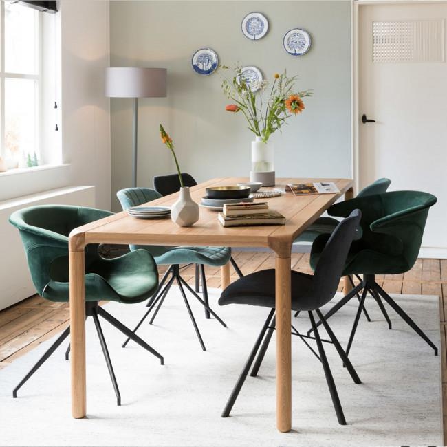 Table à manger bois frène 220x90 Storm