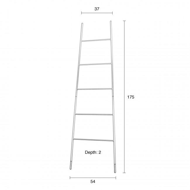 Porte-manteaux ou magazines Ladder Rack