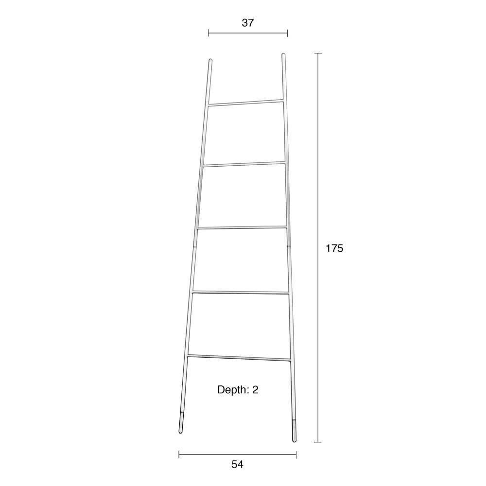 Porte manteaux ou magazines ladder rack zuiver - Supports magazines simples fois tres design ...
