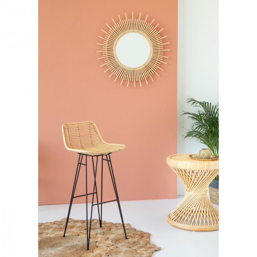 tapis rond jute tress erykah drawer. Black Bedroom Furniture Sets. Home Design Ideas