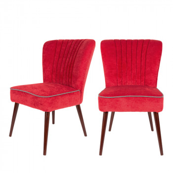 Lot de 2 chaises Smoker Dutchbone