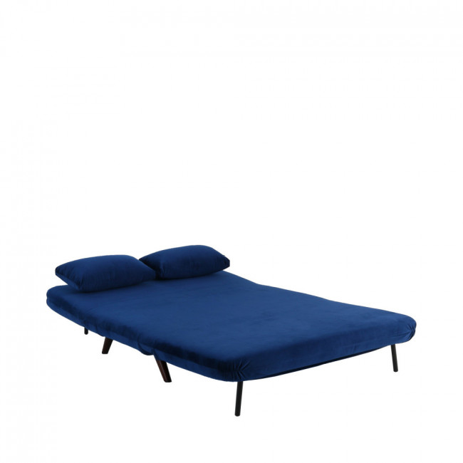 Canapé convertible modulable velours 2 places John