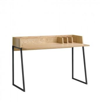 Bureau design bois et métal Boden