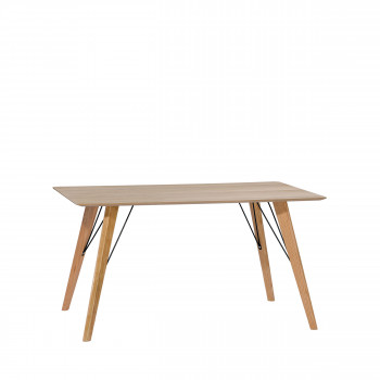 Table à manger scandinave 120x80cm Ryden