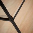 Etagère en métal et bois L Push