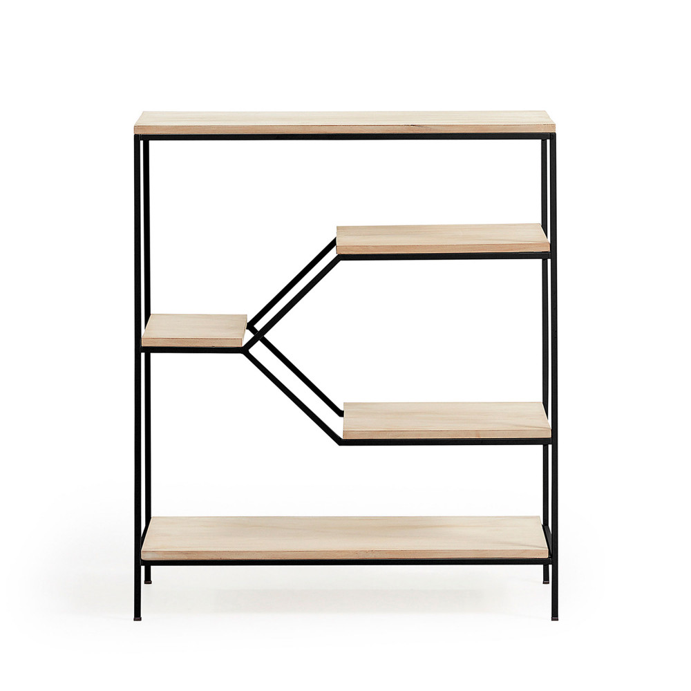 etag re en m tal et bois m push drawer. Black Bedroom Furniture Sets. Home Design Ideas