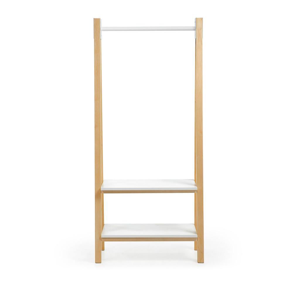 portant scandinave en bois silke drawer. Black Bedroom Furniture Sets. Home Design Ideas