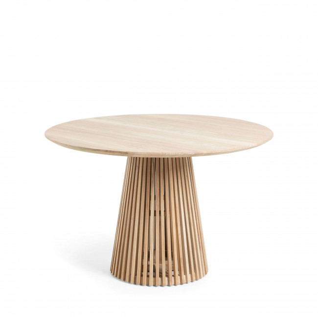 Table à manger ronde teck ø120cm Jeanette