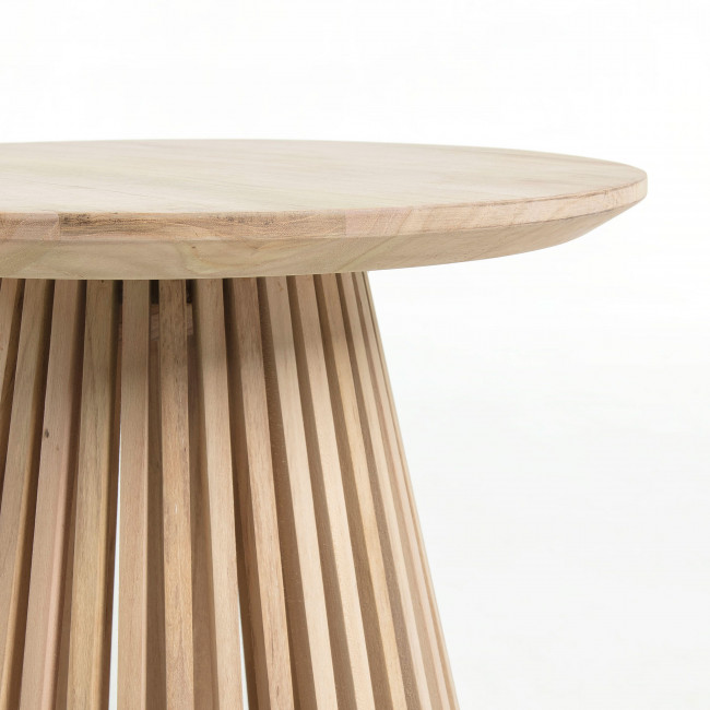 Table d'appoint ronde teck ø50cm Jeanette