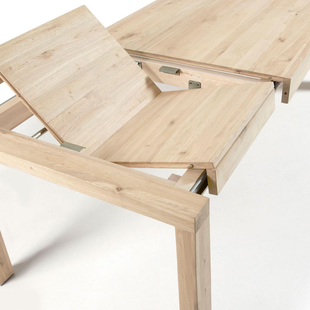 Briva Table A Manger Extensible En Bois 200 280x100cm