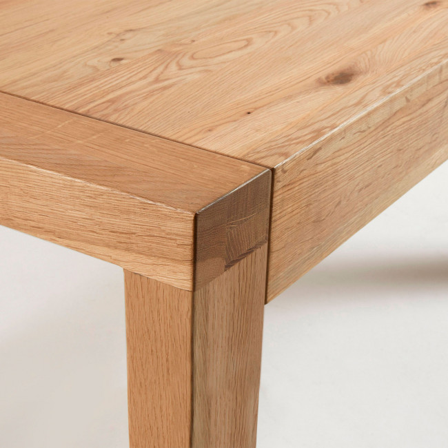 Table extensible en bois 200-280x100cm Briva