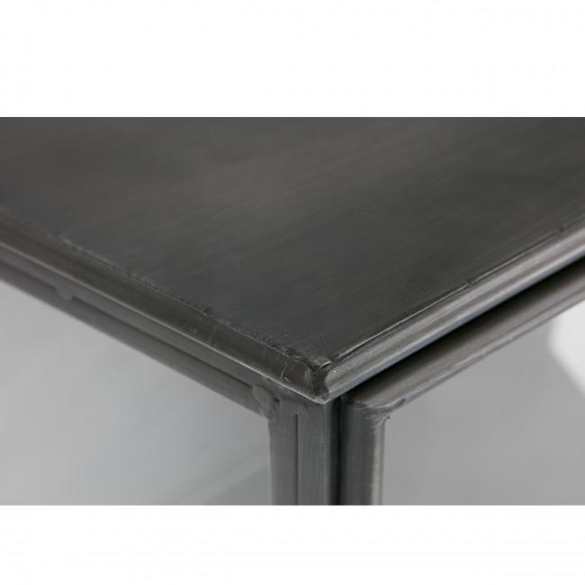 Vitrine design en verre et métal Trophy