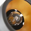 Lampadaire en métal Bente