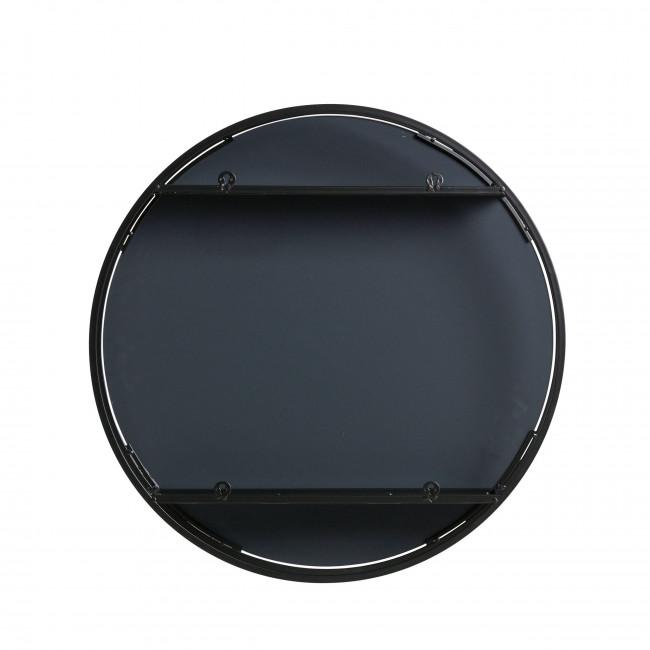 Miroir en métal rond ø 60 cm Olivia