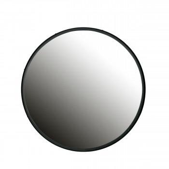 Miroir rond en métal XL Lauren