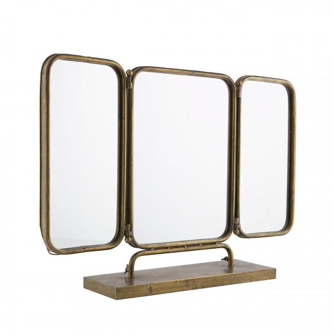 Miroir vintage en métal Anonymous