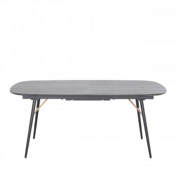 Table à manger extensible 180-230x105cm Makassar
