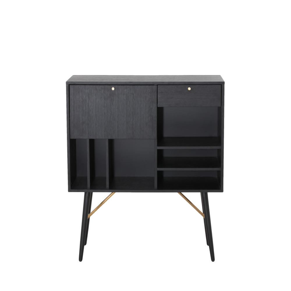 buffet haut en bois makassar drawer. Black Bedroom Furniture Sets. Home Design Ideas