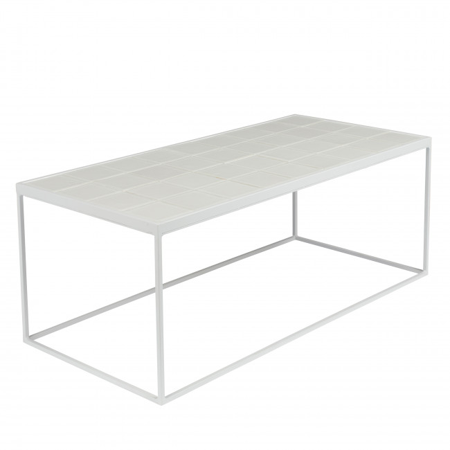 Table basse rectangulaire Glazed Zuiver