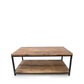 Table basse rectangle niche bois et métal Jug Label 51