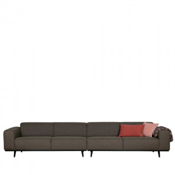 Canapé 6 places en tissu XL Statement