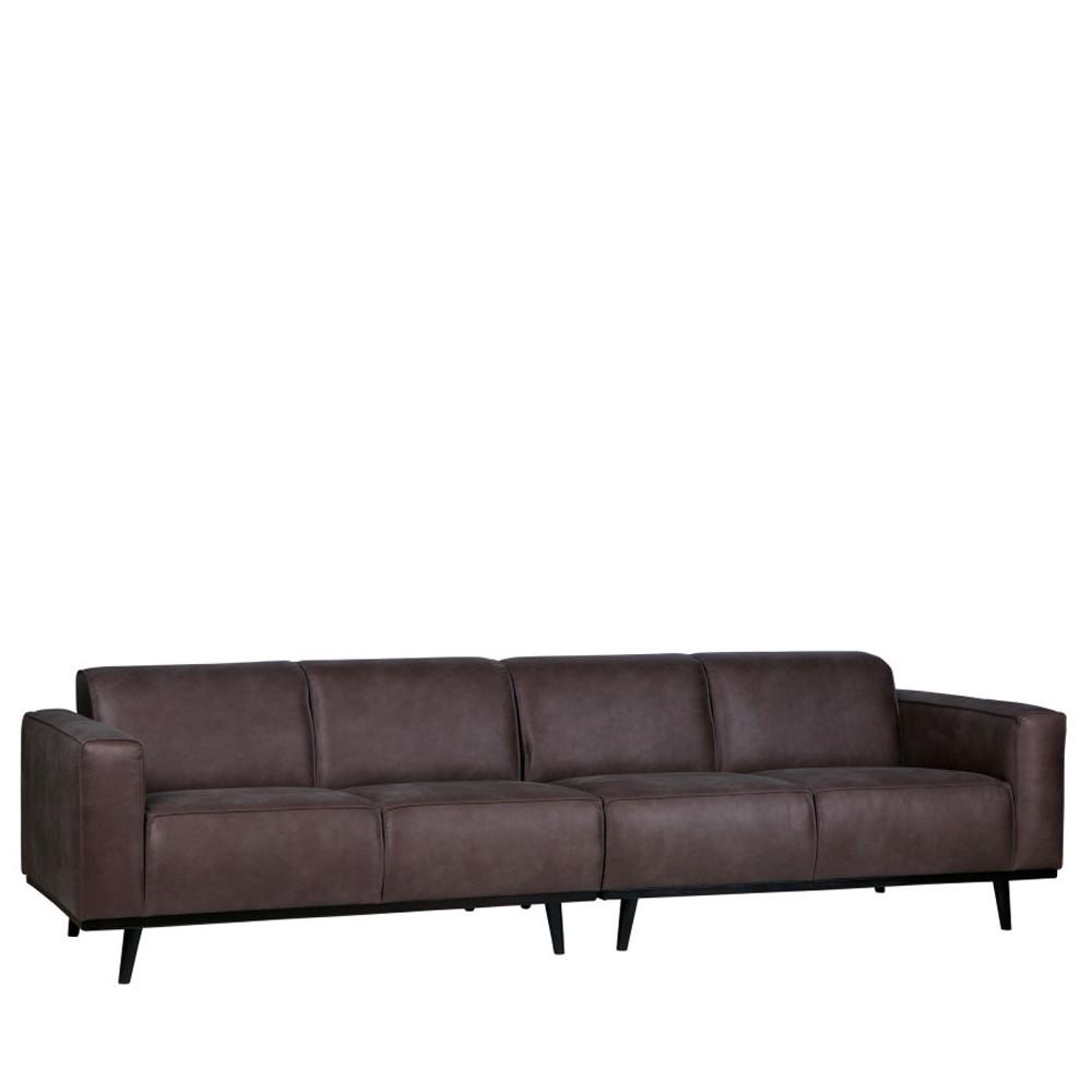 canap 4 places en simili cuir statement drawer. Black Bedroom Furniture Sets. Home Design Ideas