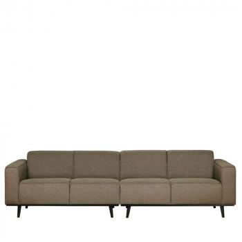 Canapé 4 places en tissu Statement