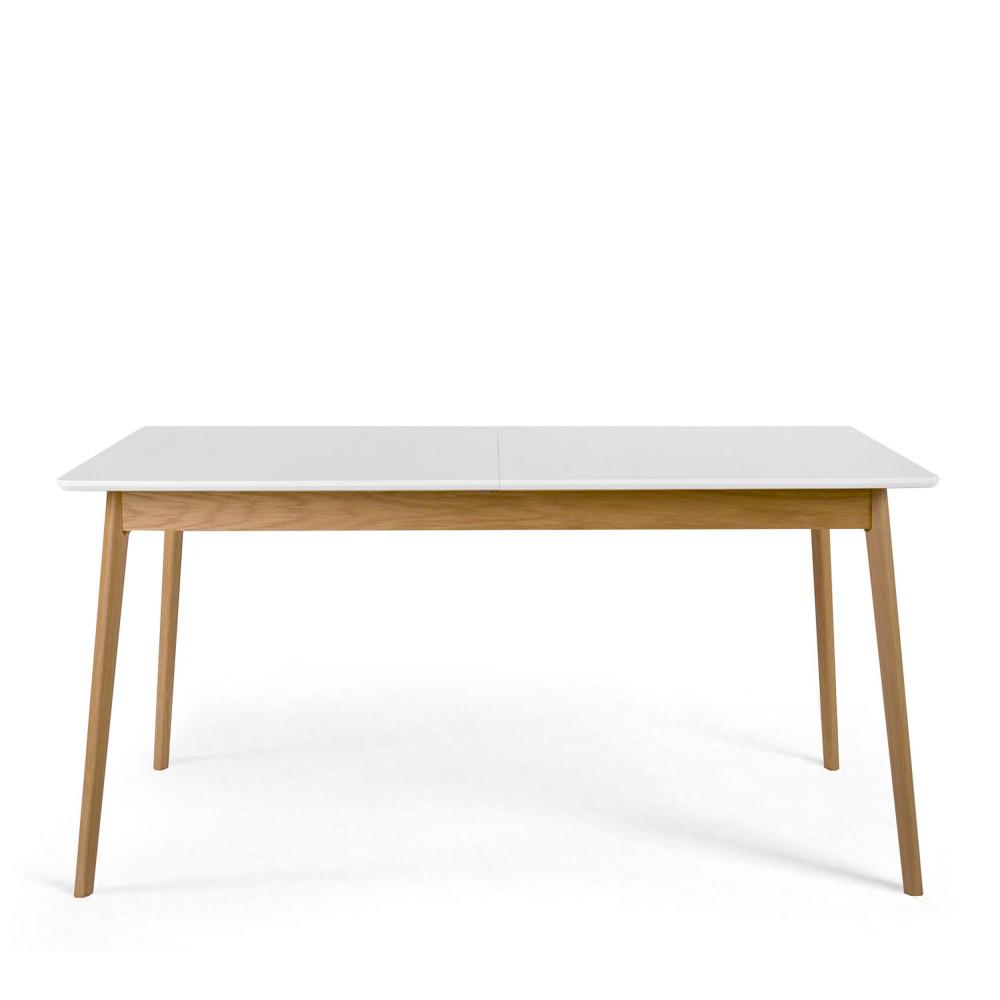 Table À Manger Nordique table à manger extensible 150-200x80cm drawer - skoll